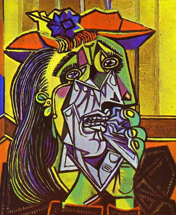 Weeping Woman. Paris 1937-Picasso